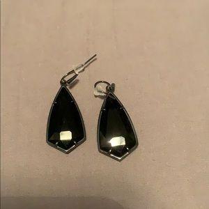 Kendra Scott Carla Drop Earrings in black